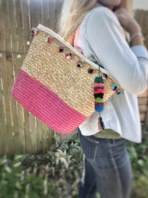 $12 Summer Straw Tote